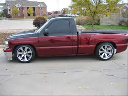 my new paint job two tone link chevy truck forum gmc truck
