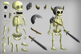 halloween skeleton game 2d game skeleton character sprites craftpix net
