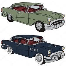 classic american cars classic american cars u2014 stock vector 2v 40845219