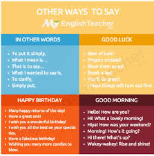 other ways to say morning happy birthday idiomatic