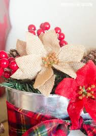 rustic christmas centerpiece craft by love the day