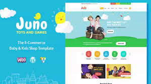 juno kids toys u0026 games store themeforest website templates and