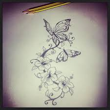 lewis on butterflies and flowers design for
