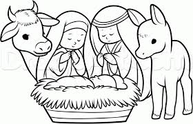 precious moments nativity coloring pages 18 how to draw the nativity
