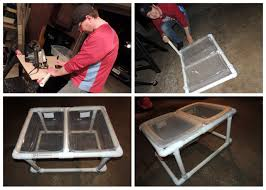 Diy Pvc Patio Furniture - diy sand u0026 water sensory bin table 60 minutes 50 u003d done