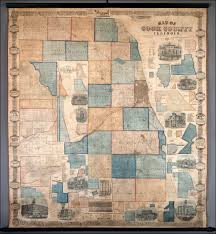 Cook County Il Map Map Of Cook County Illinois Compiled And Drawn From Record And