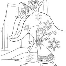 disney frozen princess anna coloring pages place color