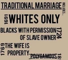 Traditional Marriage Meme - traditional marriage