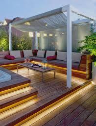 backyard deck lighting ideas