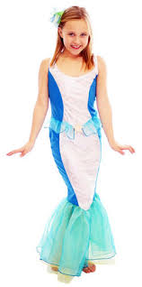 mermaid princess girls fancy dress fairy tale book week childrens