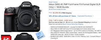 black friday nikon d5500 amazon nikon d850 bundle now in stock at amazon via beachcamera