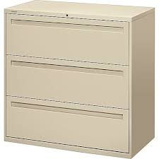 Hon 42 Lateral File Cabinet Hon Brigade 700 Series 3 Drawer Lateral File Putty Beige Letter