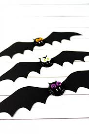 spooky bat halloween bottlecap magnets frugal mom eh
