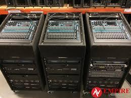Audio Visual Rack Sound Rental Firm In Toronto Sound And Lighting Rental Toronto