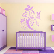 wallstickers folies butterfly flower wall stickers butterfly flower wall stickers