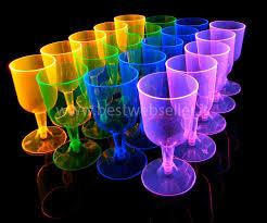 bicchieri fluorescenti oggetti fluorescenti uv glow bestwebseller store il negozio