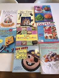 2 womans weekly birthday cake books and more other books