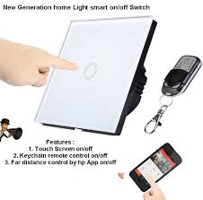 remote control on off light switch glass touch switch remote smartphon end 11 27 2018 9 15 pm