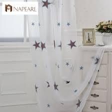 online get cheap sheer star curtains aliexpress com alibaba group