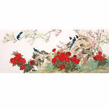 chinese bird and flower painting murals wallpaper custom wallpaper