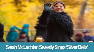 mclachlan sweetly sings silver bells at macy s