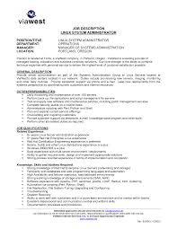 it system administrator resume network administrator resume