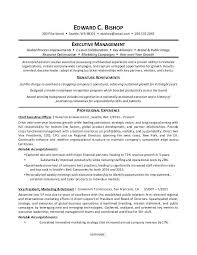 resume summary of qualifications management management resume summary of qualifications sle for an