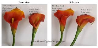 silk calla lilies nagassar designs silk real touch custom wedding