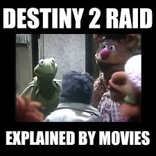 Destiny Meme - smosh games the destiny 2 raid explained by movies