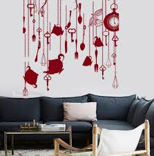online get cheap vinyl decal colors aliexpress com alibaba group tableware wall vinyl decal diy self adhesive kitchen restaurant decor amazing mural wall stickers custom