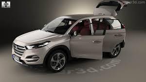hyundai tucson interior 2017 360 view of hyundai tucson with hq interior 2016 3d model hum3d