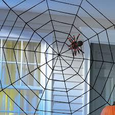 amazon com giant spider web 5 feet x 5 feet kitchen u0026 dining