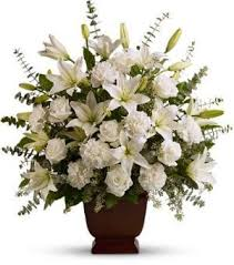 funeral floral arrangements teleflora s sincere serenity san francisco funeral flowers colma