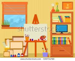 Interior Painting Tools Art Studio Stock Images Royalty Free Images U0026 Vectors Shutterstock