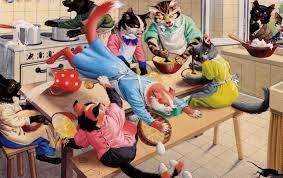 souris dans la cuisine chats carte la souris dans la cuisine notre histoire