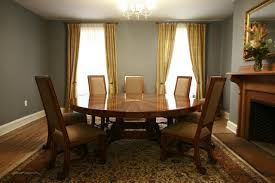 fancy 12 photos of the big round dining room table for large