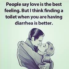 Funny Quote Memes - finding a toilet when you are having diarrhea love funny quotes