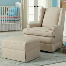 Fabric Rocking Chair For Nursery Upholstered Glider Rocker For Nursery Best Home Chair Decoration