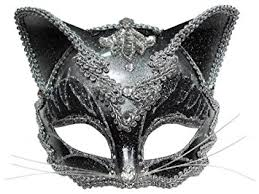 cat masquerade mask jewelled cat mask masquerade fancy dress co uk