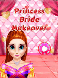 princess wedding preparation salon bride salon spa makeover pro make up princess