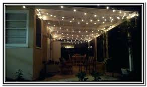 how to hang outdoor string lights on patio hanging string lights patio from a backyard pergola ewakurek com