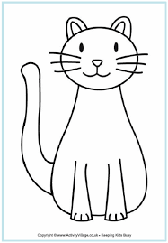 cat coloring sheet coloring pages
