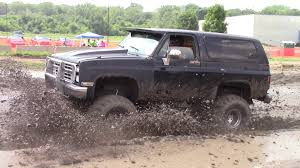 Chevy And Ford Truck Mudding - black chevy truck mudding at mid michigan mud run july 2015 youtube