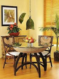 Decorating Dining Room Table 148 Best Tropical Dining Rooms Images On Pinterest Tropical