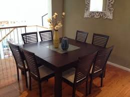 dining room tables seats 8 square kitchen table for 4 large square