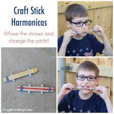 sound science for kids make a craft stick harmonica craft