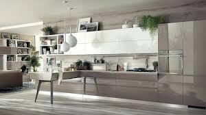 cuisine blanche mur taupe magnifique cuisine blanche et gris idee magnifique meuble cuisine