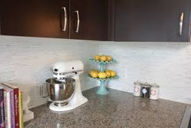 Marble Mosaic Backsplash Tile by Our Carrara Marble Backsplash And Kitchen Tour
