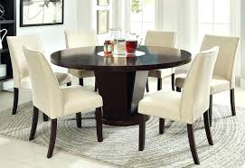 60 round dining table with leaves inch pedestal leaf glass top