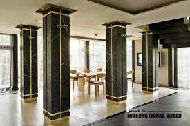 interior columns for homes interesting contemporary columns decorative stylish element in